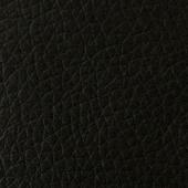 Спинка и боковая часть из черной экокожи
