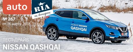 Онлайн-журнал: Что с правилами медосмотра, помогают ли штрафы за «пьянку», тест-драйв Nissan Qashqai и 10 самых популярных б/у авто зимы.