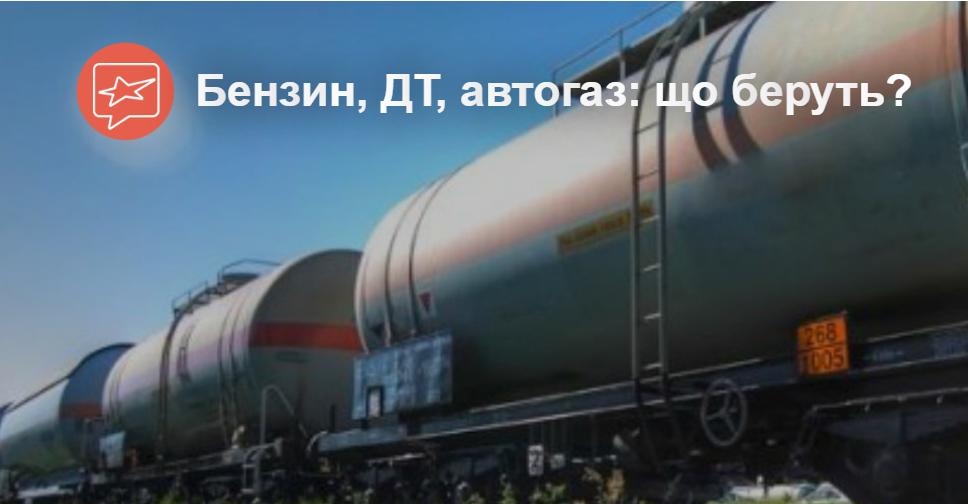 Спрос на бензины в Украине падает, потребность в дизельном топливе увеличилась, а газ дешевеет, несмотря на плохие новости.