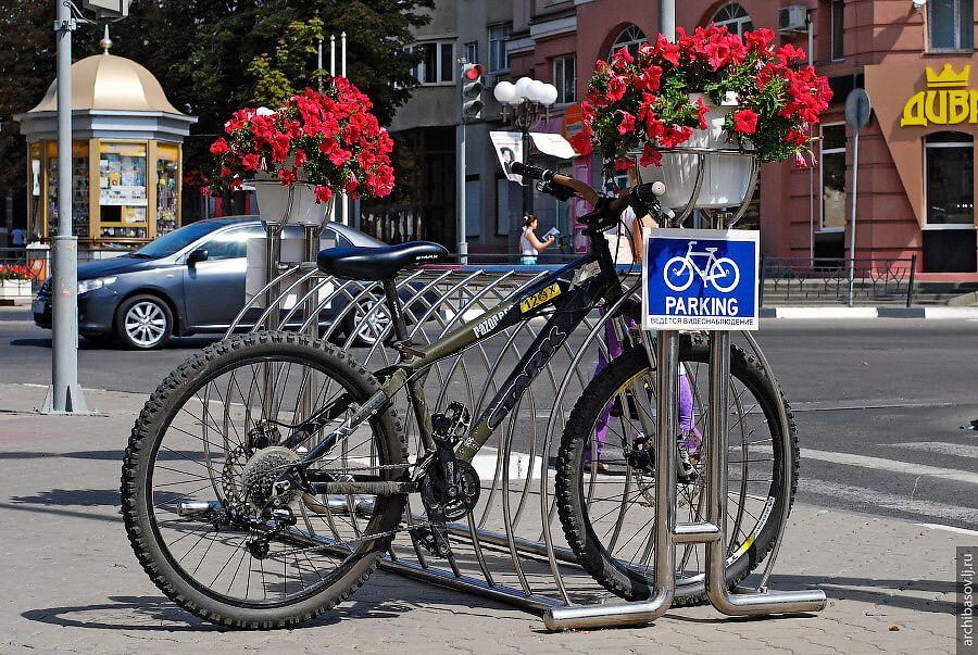 Где парковать велосипед
