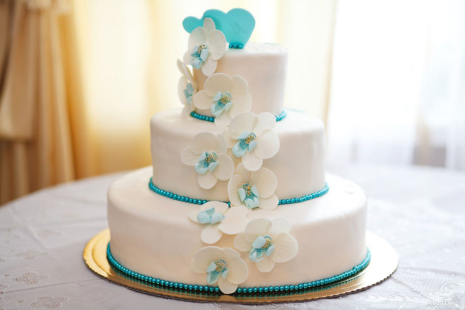 свежий торт