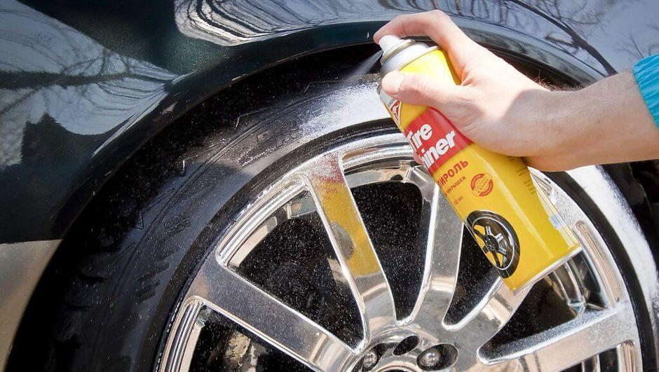 Как помыть шины и диски