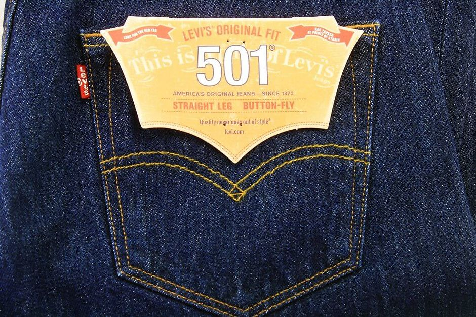 Карманы на джинсах Levi's