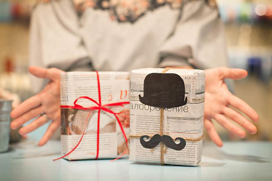 Как упаковать телефон для подарка 4