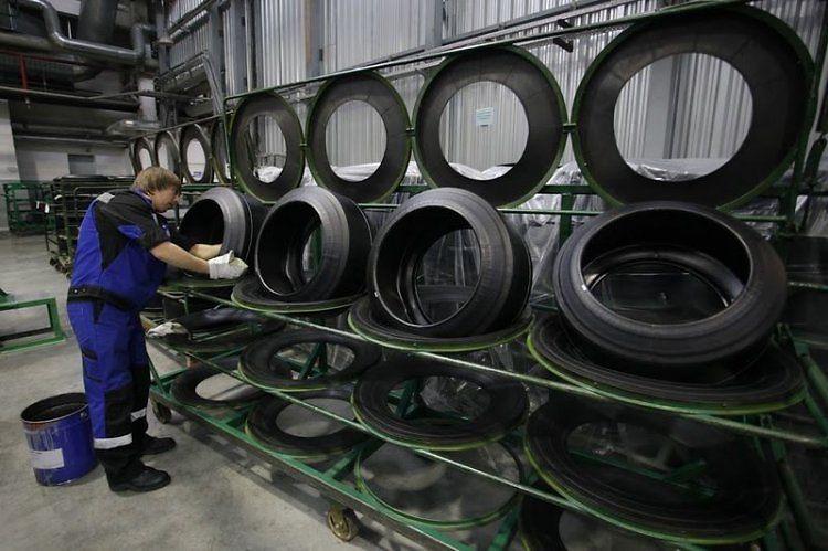 Где производят шины