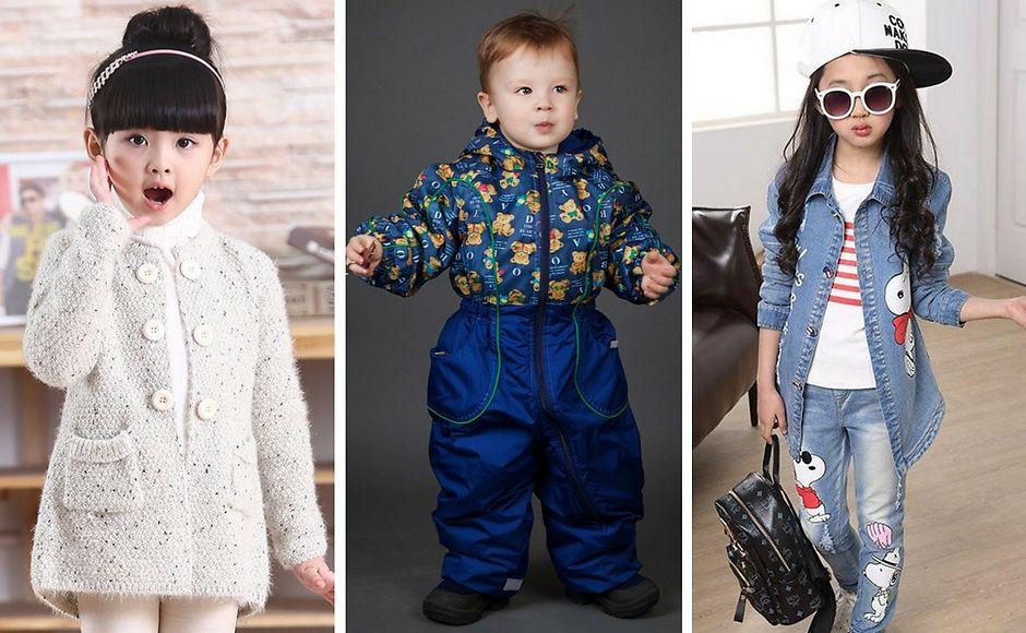 Чем наполнить осенний гардероб ребенка?