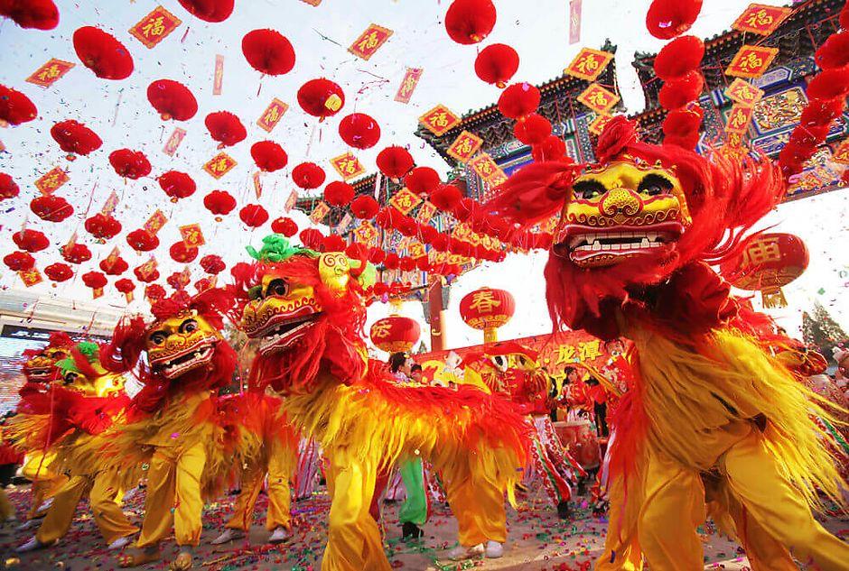 Новогодние традиции Китая