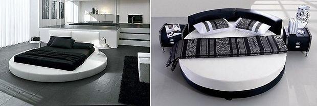 Как выбрать форму кровати
