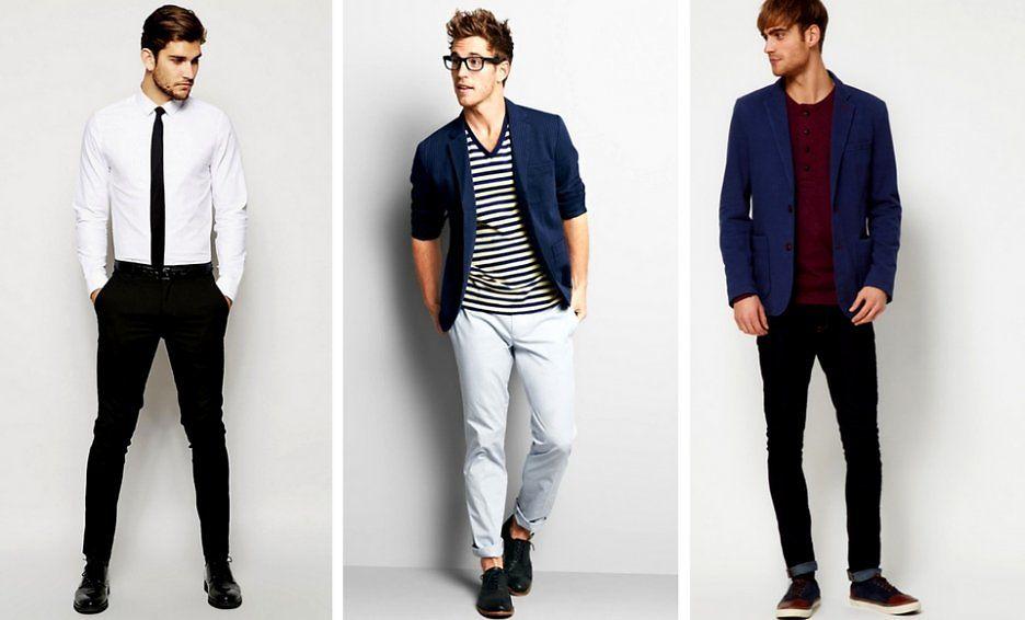 Подбор одежды для невысоких парней