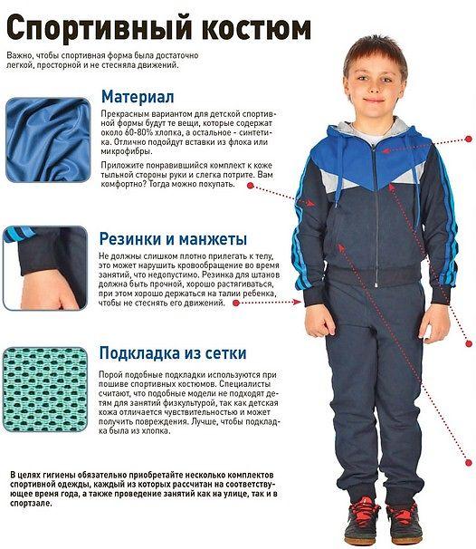 852fd29d Если в состав ткани костюма добавлен эластин, такой спортивный костюм  защищён от деформации, а также потери цвета при стирке.Одежда для детей  бывает всех ...