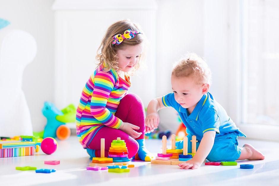 Подарок на День святого Николая для ребенка от двух до четырех лет