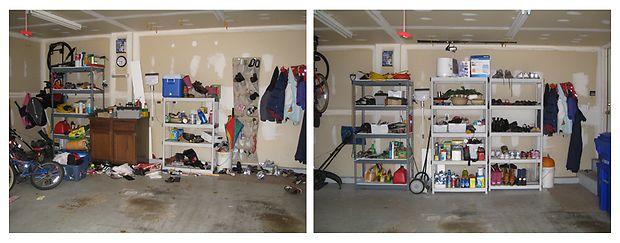 Сделайте уборку в гараже