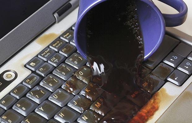 Намок ноутбук