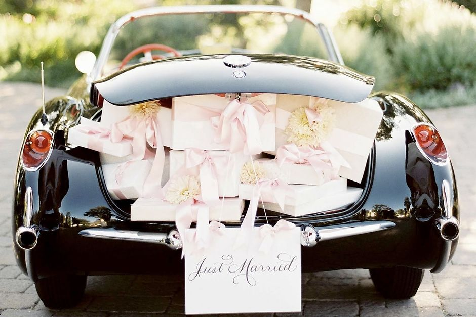 Свадебный кортеж: каким он бывает и как украсить?
