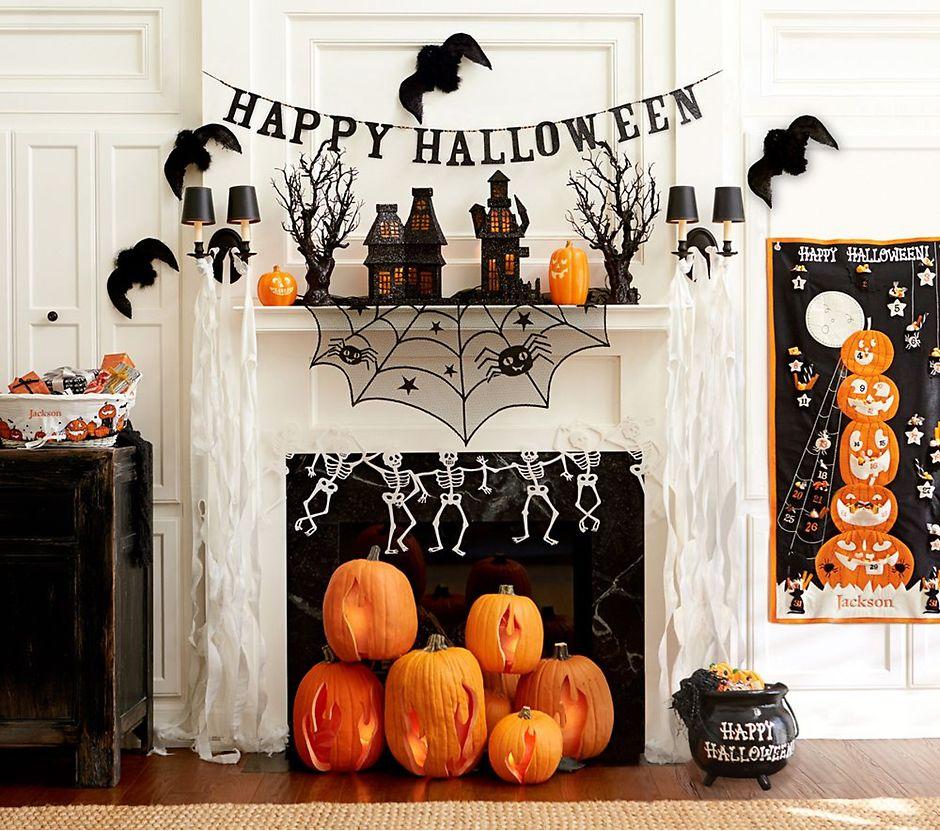 Украшаем квартиру к Хэллоуину