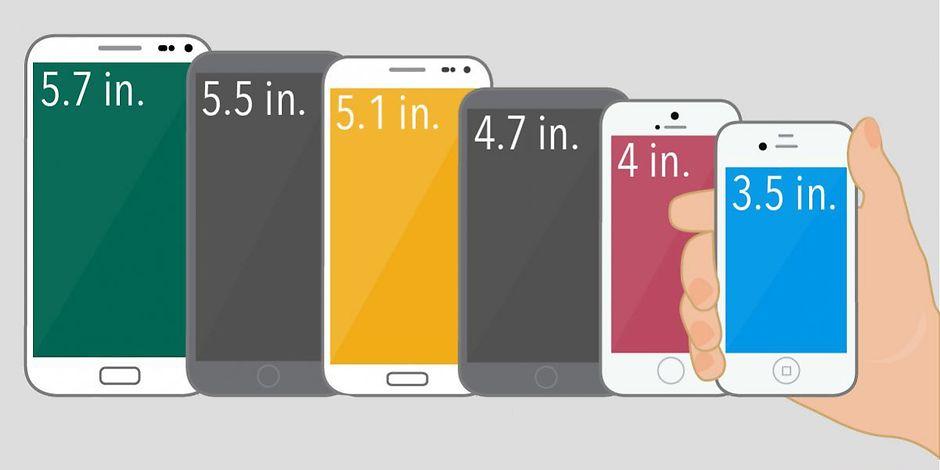Дисплей телефонов на Андроид