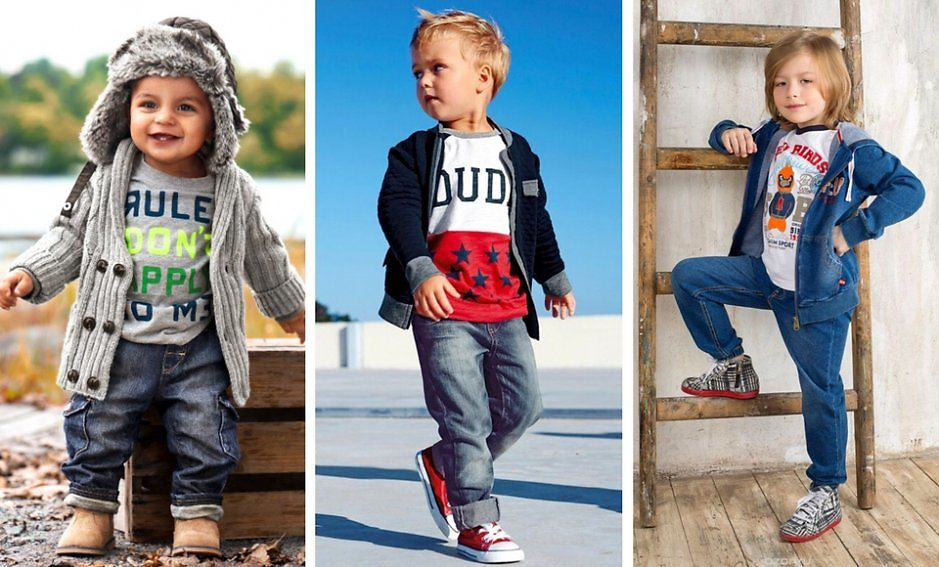 Какую весеннюю одежду купить мальчику