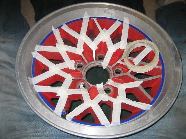 как красить диски
