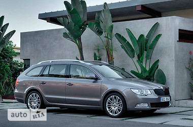 Skoda SuperВ Combi FL 1.8 TSI АT Elegance 2014