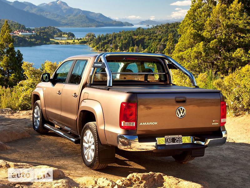 Volkswagen Amarok DoubleCab New 2.0D MT (140 л.с.) 4Motion Comfortline