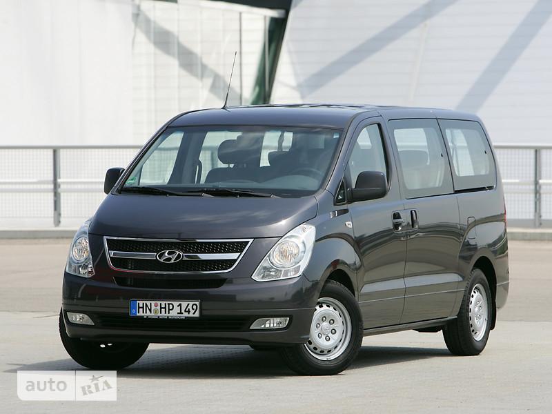 Hyundai H1 пасс. 2.5 CRDi АТ (170 л.с.) (8s) Business +