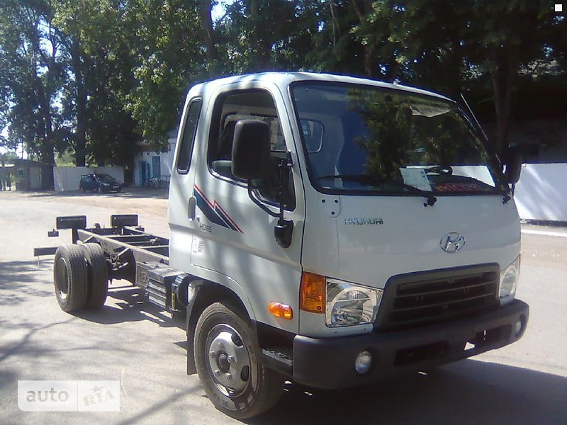 Hyundai HD 65 Шасси