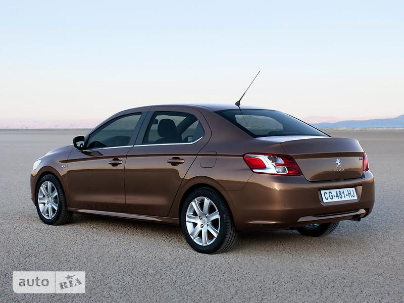 Peugeot 301 1.6 4AT (115 л.с.) Allure