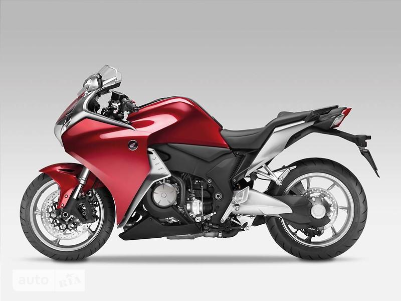 Honda VFR 1200 максимальная скорость #9