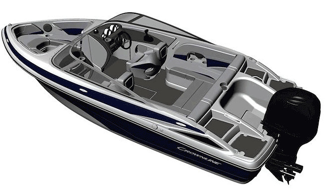 Crownline XS 19 Bowrider Outboard