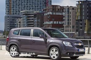 Продаж нового автомобіля Chevrolet Orlando на базаре авто