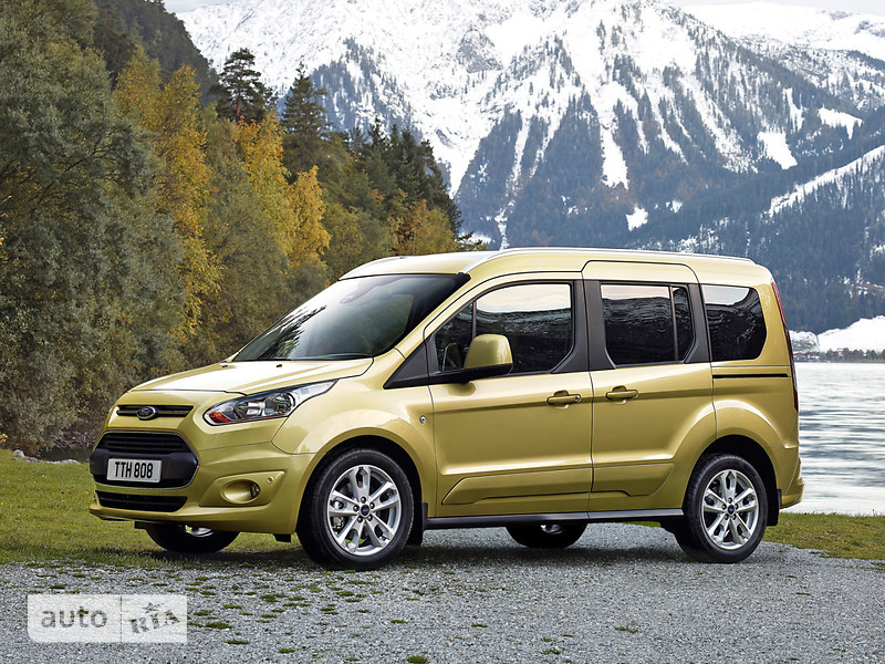 Ford Tourneo Connect пасс. 1.5D MT (100 л.с.) LWB Trend