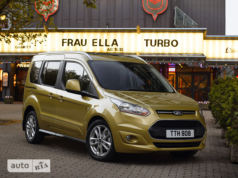 Ford Tourneo Connect пасс. 1.6D MT (95 л.с.) SWB Trend