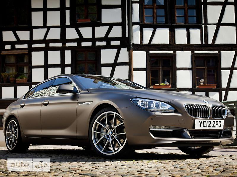 BMW 6 Series Gran Coupe F06 640i АТ (320 л.с.) base