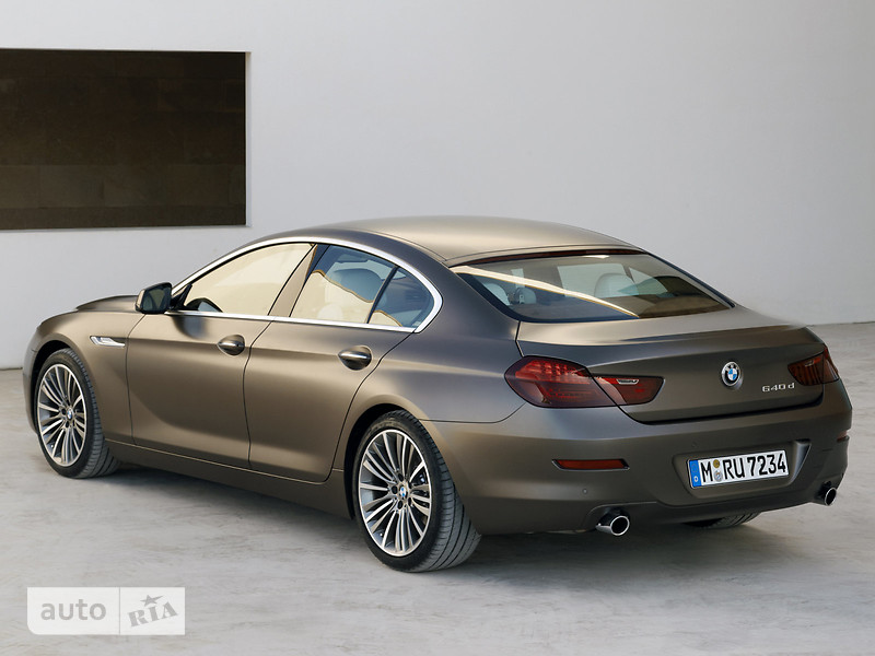 BMW 6 Series Gran Coupe F06 650i AT (450 л.с.) xDrive base
