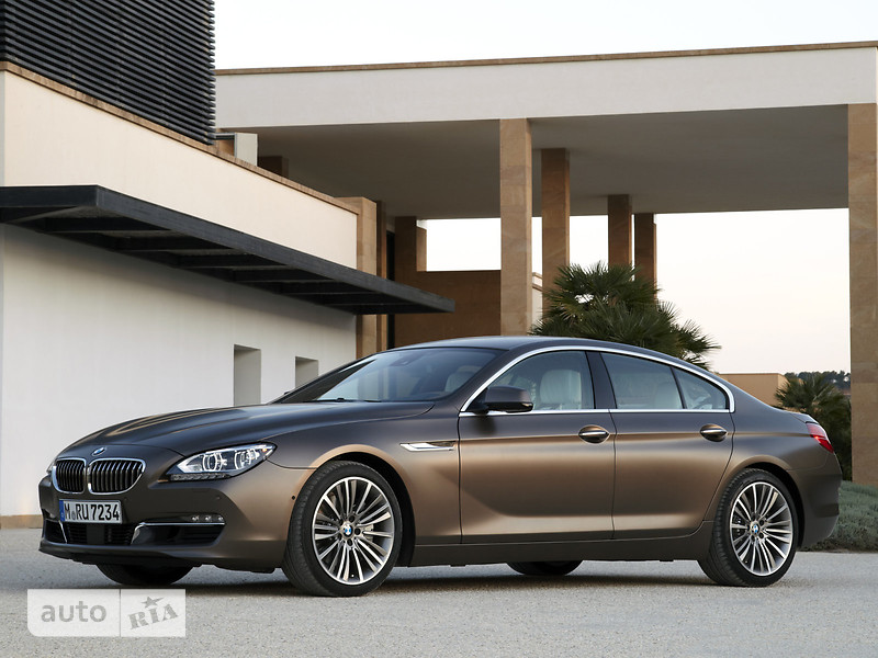 BMW 6 Series Gran Coupe F06 640d AT (313 л.с.) xDrive base
