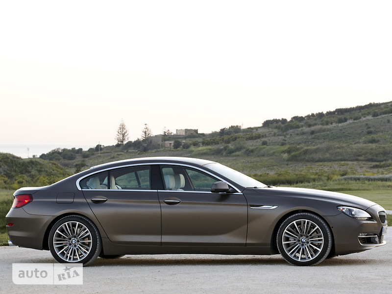 BMW 6 Series Gran Coupe F06 640i АТ (320 л.с.) xDrive base