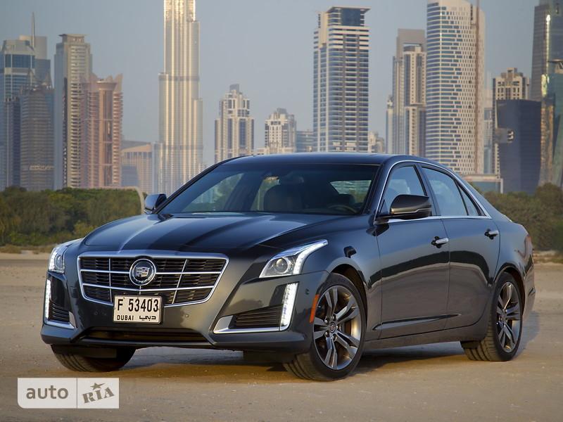 Cadillac CTS 2.0T AT (272 л.с.)