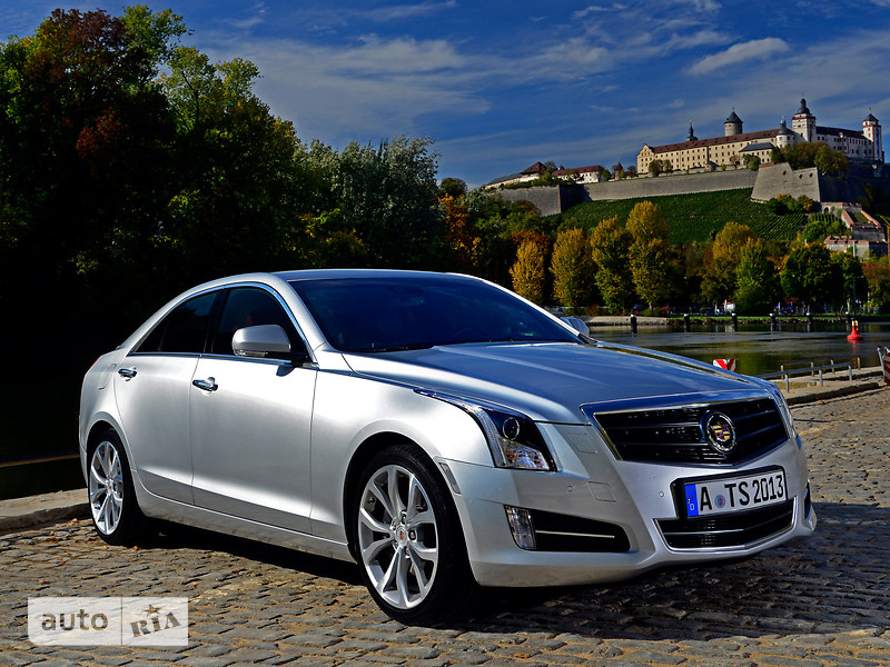 Cadillac ATS 2.0T AT (272 л.с.) Luxury