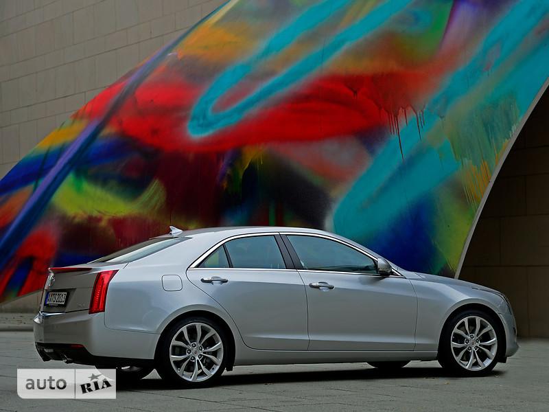 Cadillac ATS 2.0T AT (272 л.с.) Luxury
