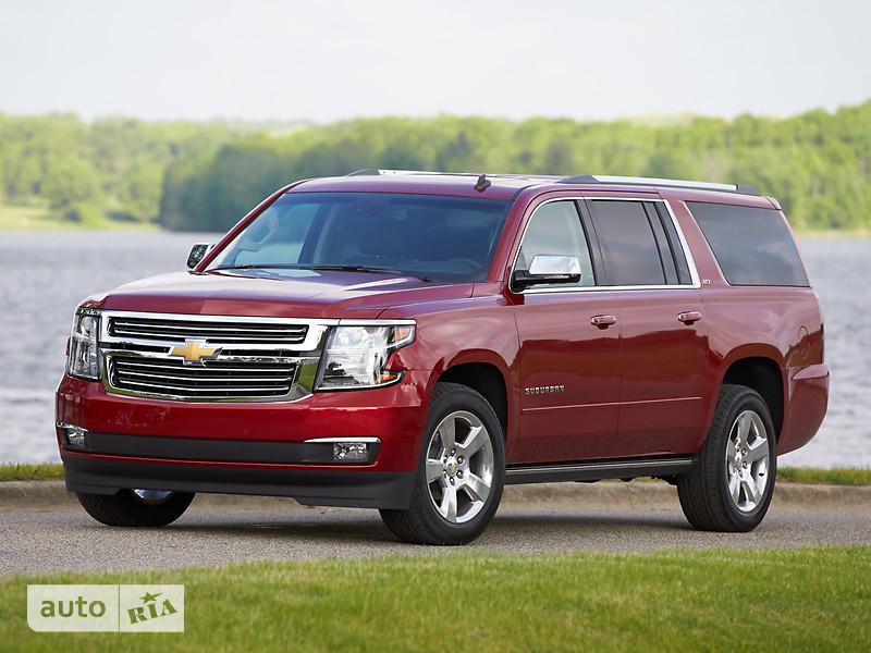 Chevrolet Suburban 5.3 АТ (355 л.с.) LTZ