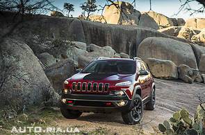 Продаж нового автомобіля Jeep Cherokee на базаре авто