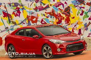 Продаж нового автомобіля Kia Cerato Koup на базаре авто