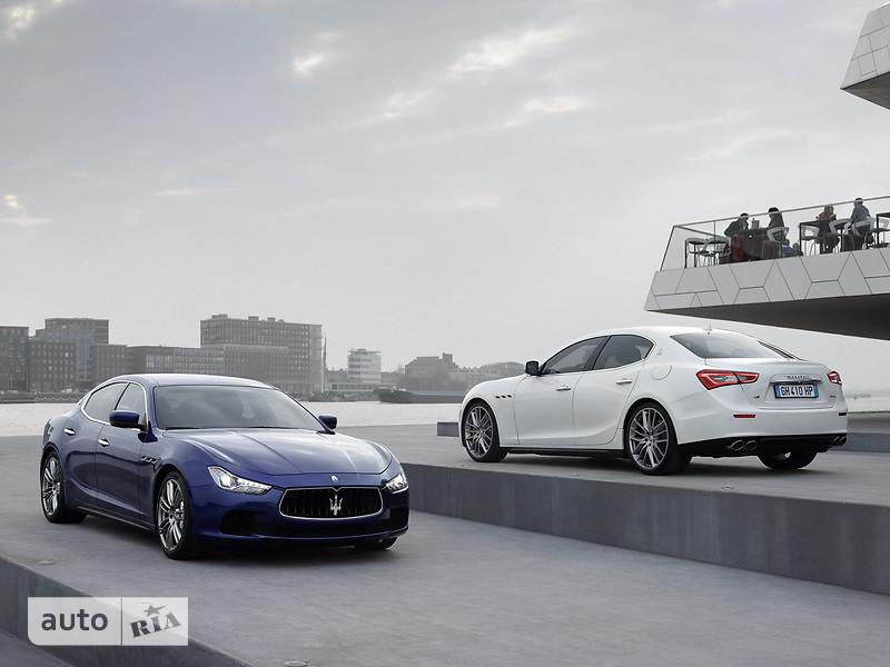 Maserati Ghibli 3.0 АТ (410 л.с.) S Q4