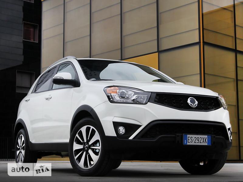 SsangYong Korando New 2.2 e-XDi (178 л.с) AT AWD DLX