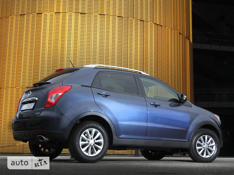 SsangYong Korando New 2.2 e-XDi (178 л.с) MT AWD DLX-1