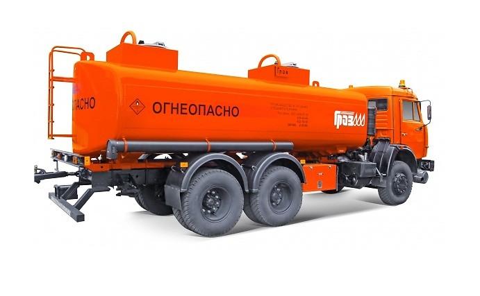 КамАЗ 65115 АЦ-17 (6673-07.10)