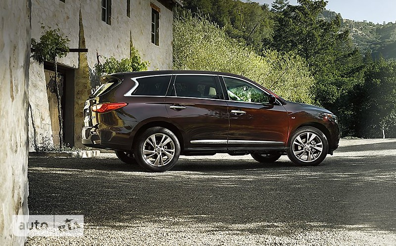 Infiniti QX60 2.5 CVT Hybrid (250 л.с.) Elegance + Roof Rail