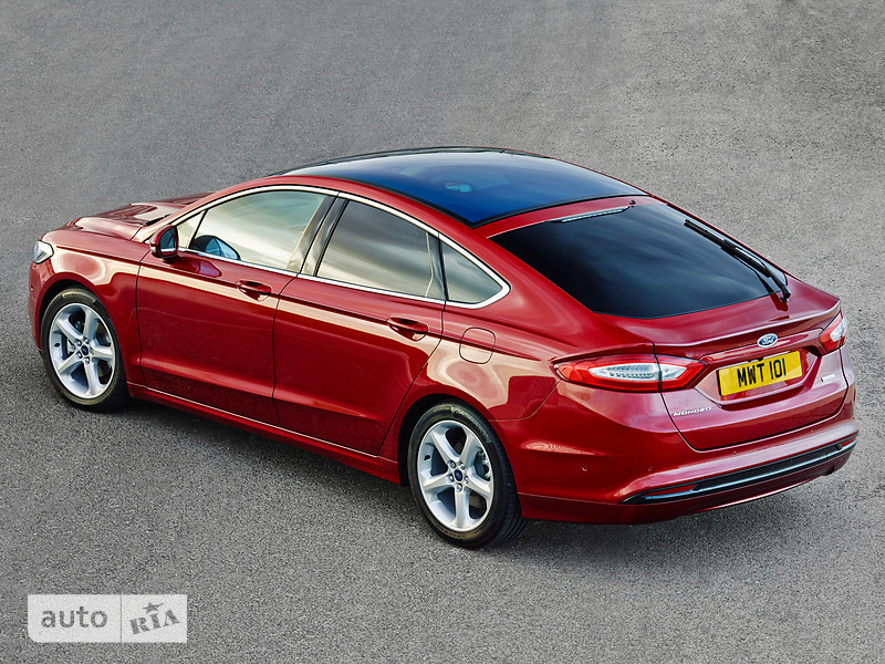 Ford Mondeo New 2.0 Ecoboost AT (203 л.с.) Lux