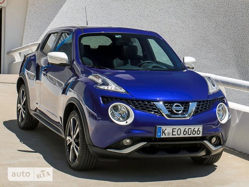 Nissan Juke FL 1.6 МТ (94 л.с.) XE