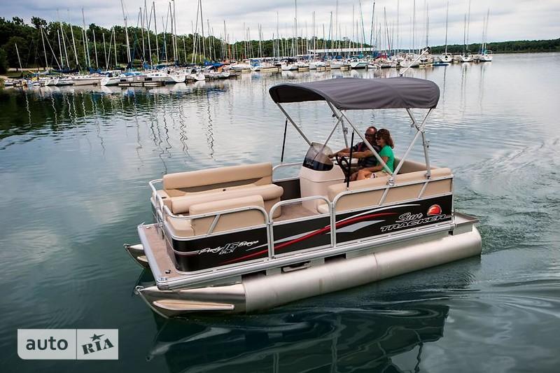 Sun Tracker Party Barge 16 DLX ET